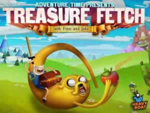 Treasure Fetch with Finn and Jake